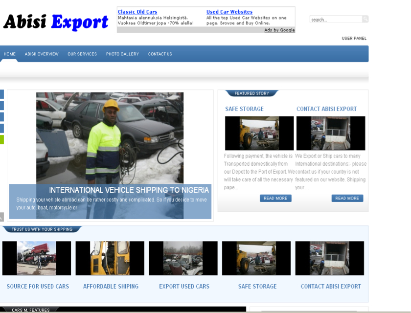 Abisi Export - Portia Web Solutions